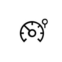Controlelampjes snelheidsbegrenzer, snelheidsregelaar en adaptieve snelheidsregelaar
