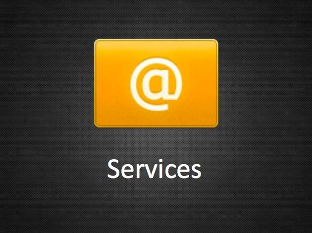De diensten