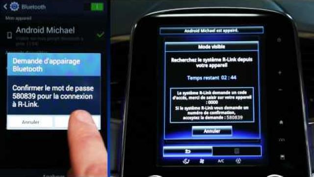 Comment réaliser l'appairage depuis votre téléphone Android?